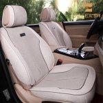 尼罗河宝马5系专车专用亚麻汽车坐垫 四季通用宝马五系专用座垫