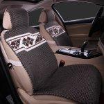 尼罗河冰丝手编凉垫汽车坐垫 适用于宝马奥迪奔驰现代四季通座垫