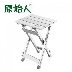 原始人户外多功能折叠椅凳 超轻钓鱼椅子铝合金马扎钓鱼凳