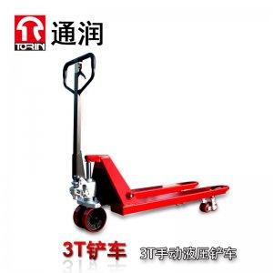 TORIN通润手动液压叉车 加长搬运铲车堆高车2.5T-3T
